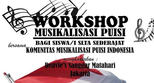 Yuk, Ikuti Pelatihan Musikalisasi Puisi Siswa tingkat SMA di Tanjungbalai
