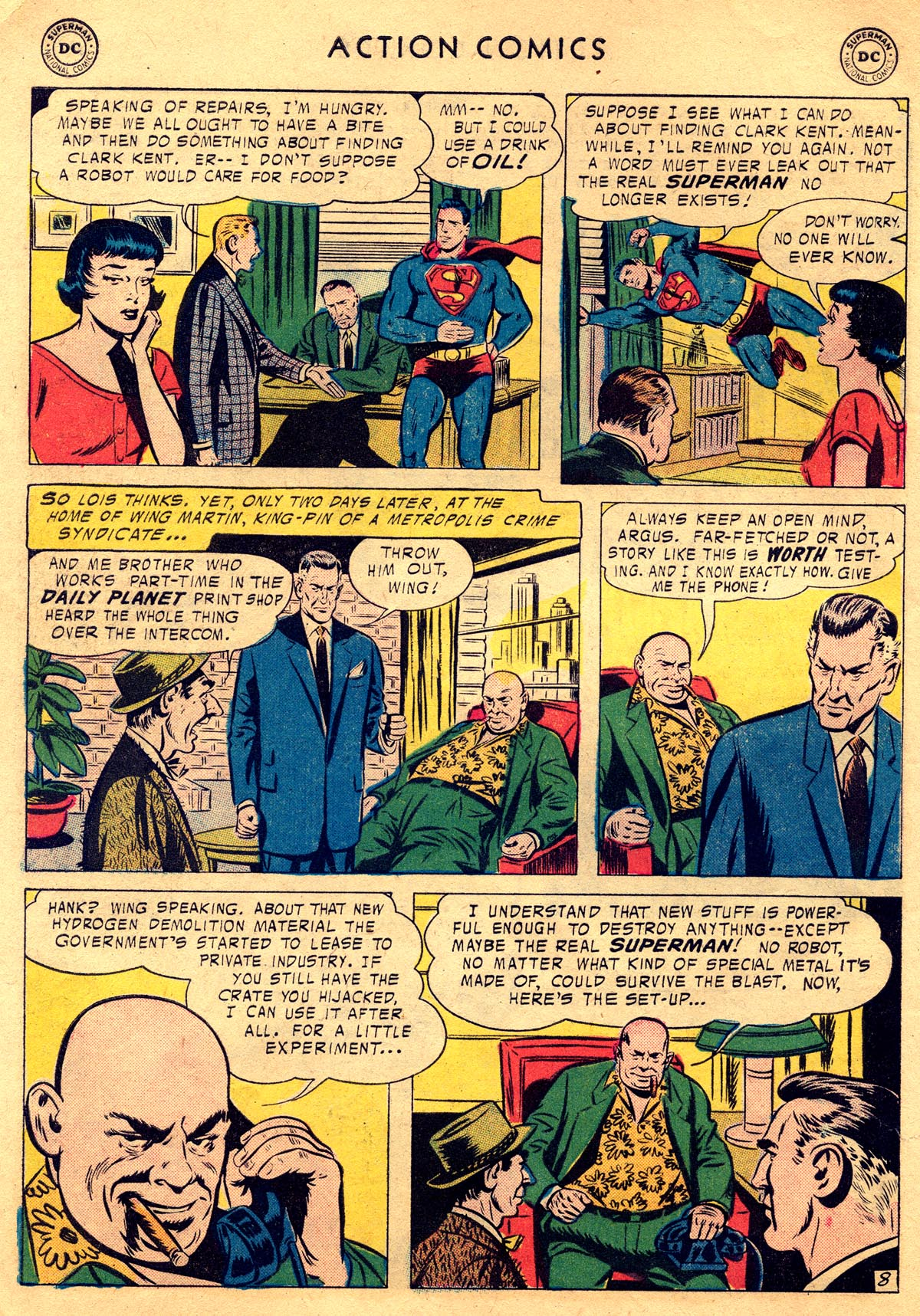 Read online Action Comics (1938) comic -  Issue #225 - 10