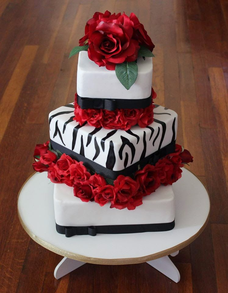 cakes by becky valentine 39 s day wedding. Black Bedroom Furniture Sets. Home Design Ideas