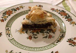 Part de galette des rois aux biscuits Belvita Duo Fourré Goût Chocolat Noisette, épiphanie