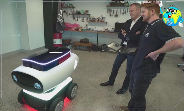 Tecnologia, inovação, Pizza, Robô, Nova Zelândia, Terra de Nerd