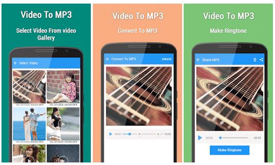 10 Aplikasi Android untuk merubah Vidio menjadi MP3