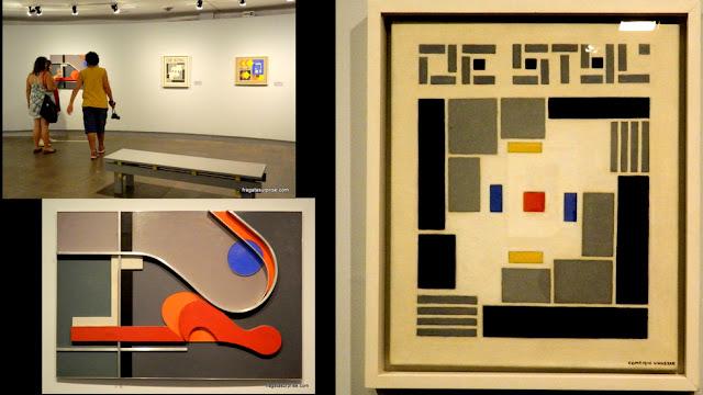 Obras de artistas inspirados em Mondrian