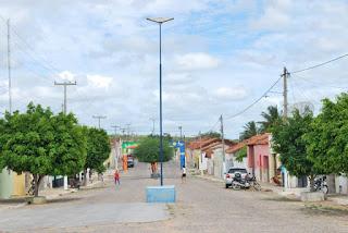 Bandidos abordo de motocicleta assaltam mercadinho no centro de Seridó
