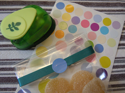 DIY: comment emballer vos confiseries - les sachets en cellophane