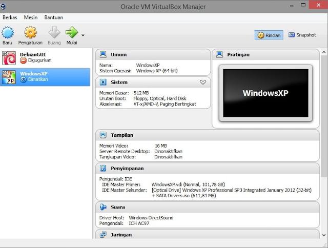 Assalamu Alaikum dan selamat malam kali ini saya akan mencoba membagikan artikel mengenai Cara Menggunakan Virtualbox Di Windows 7