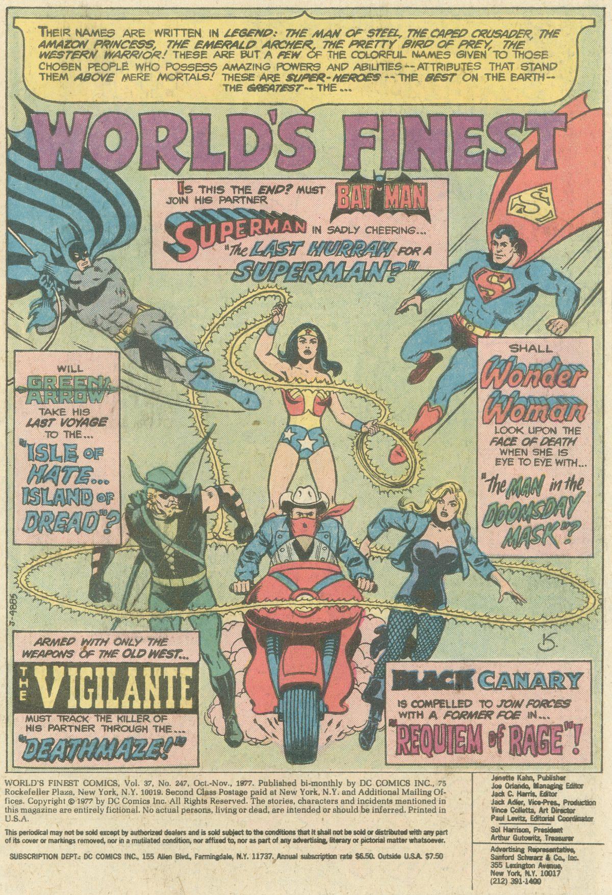 Read online World's Finest Comics comic -  Issue #247 - 3