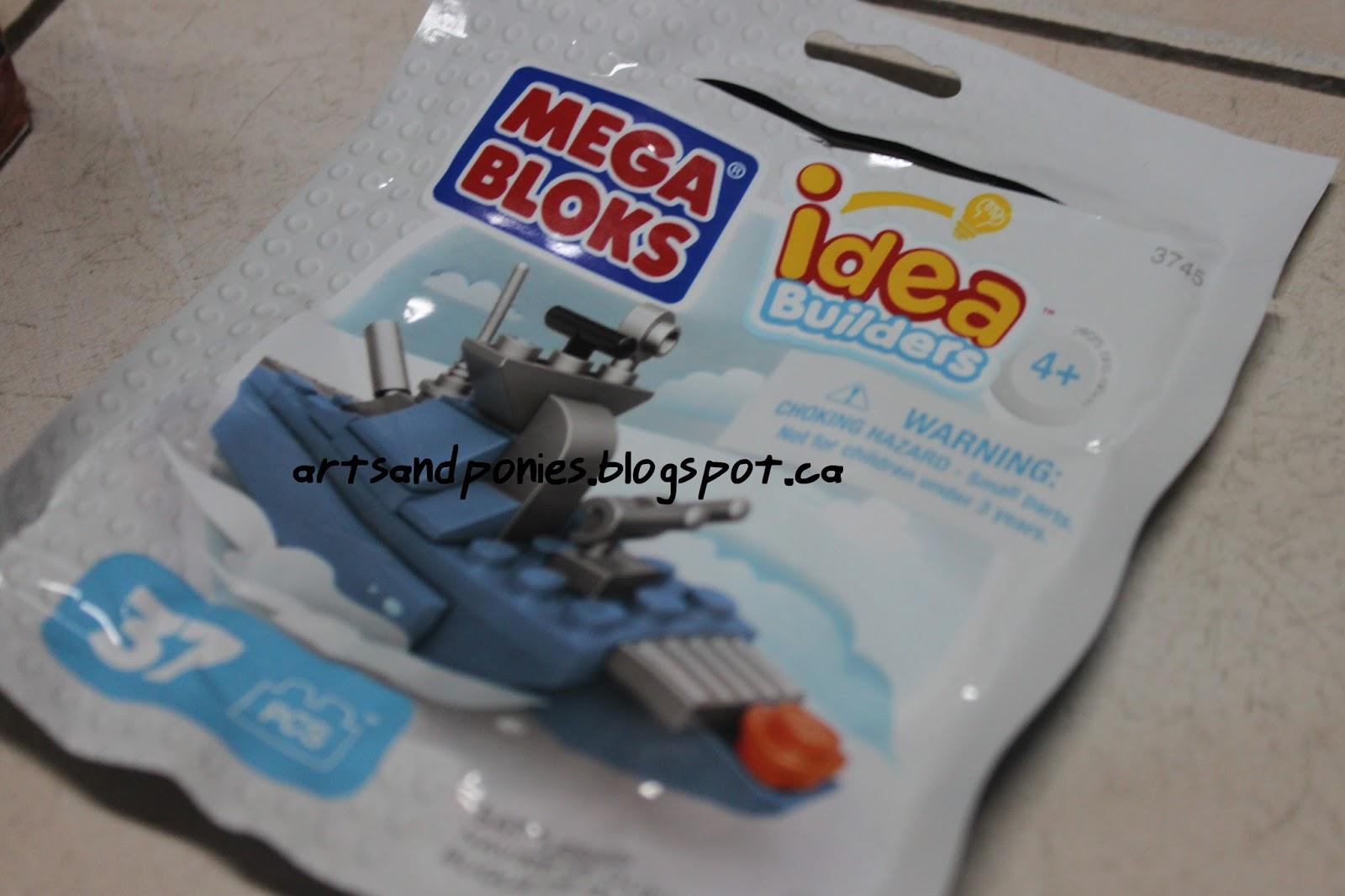 Arts and Ponies: Mega Bloks Car and Ship Build and Review!