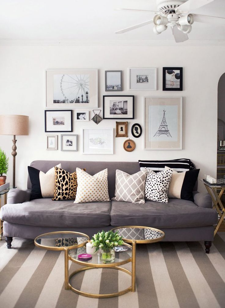 Framed Art Pictures Into Your Living Room Decor