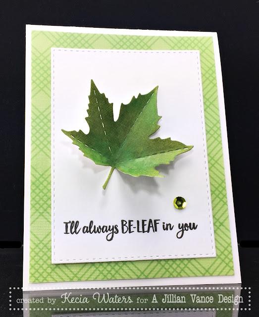 AJVD, Kecia Waters, leaf