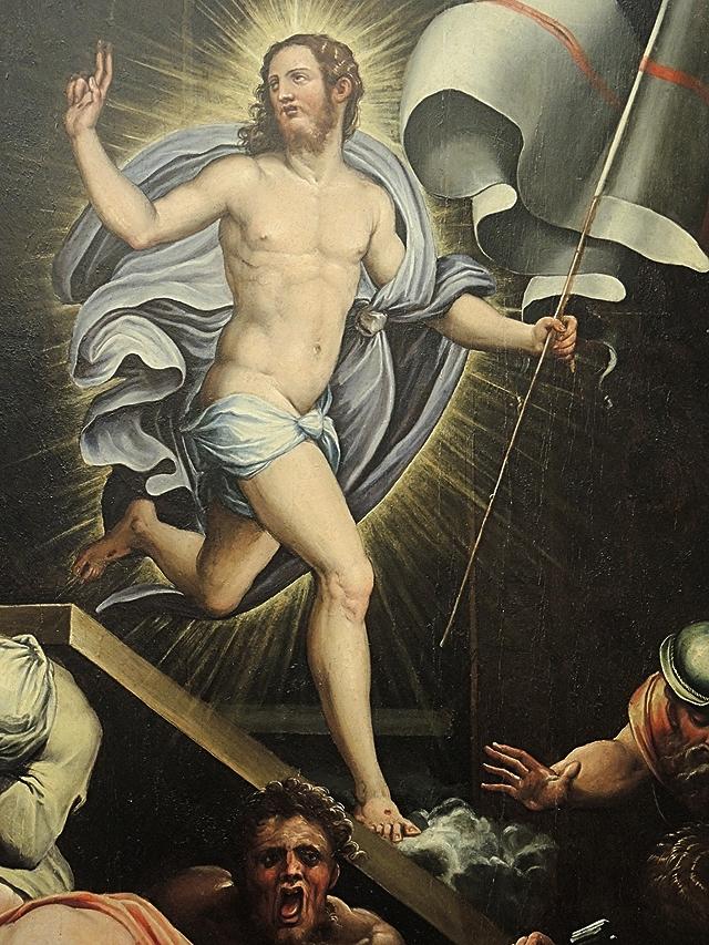 detail uit een werk van Giorgo Vasari
