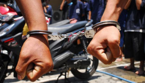 Polisi Ciduk 13 Pelaku Pencurian Suku Cadang Kendaraan Tilang Lantas Pariaman