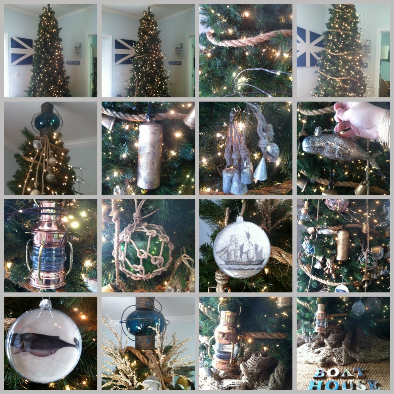 How to create nautical Christmas tree