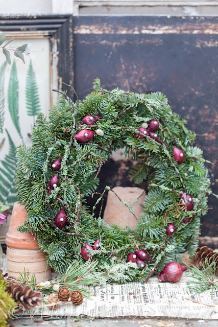 lär dig att göra en krans learn to make a wreath