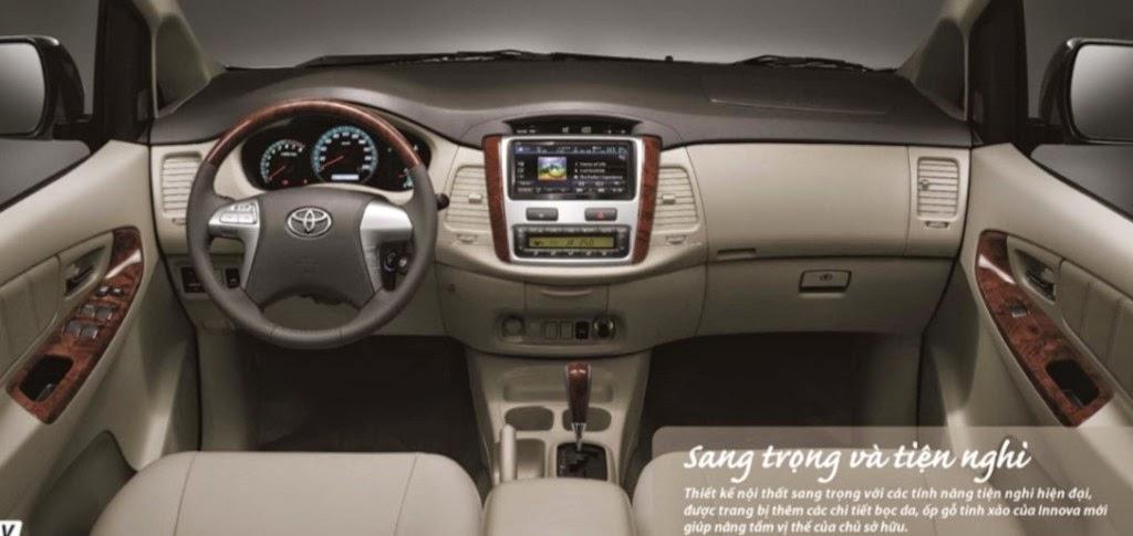 toyota innova toyota tan cang 2 1024x485 -  - So sánh Toyota Innova và KIA Rondo : Đĩnh đạc và trẻ trung