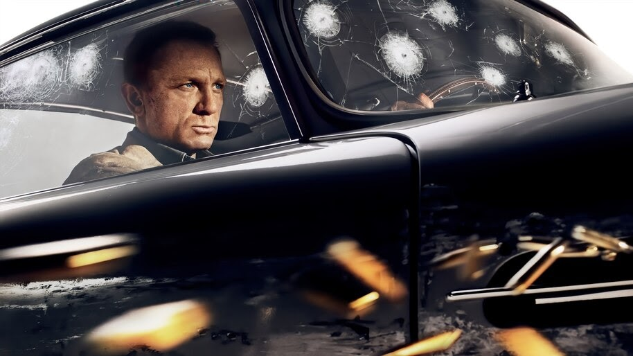No Time to Die, Daniel Craig, Poster, 8K, #3.2291