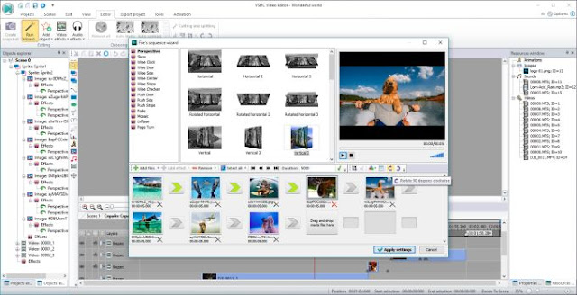 VSDC Free Video Editor 5.8.9.858 (32-bit) { Latest 2018 }