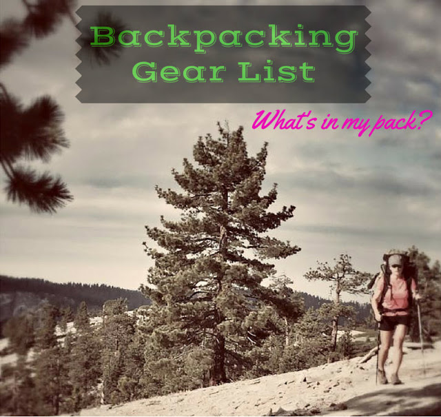 8 Beginner Backpacking Tips for Women, Backpacking Gear List