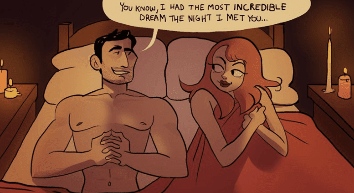 Funny Illustrations Depict The Differences Between Having Sex In Cinema And Real Life