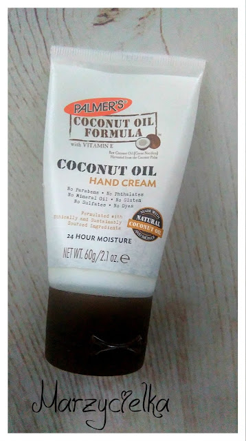 Kokosowy krem do rąk (Coconut Oil Formula), Palmer's- recenzja #20