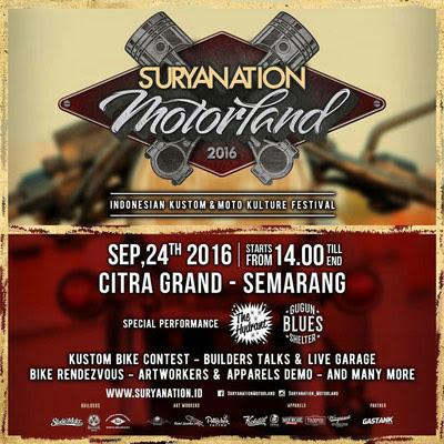 Suryanation Motorland 2016 - Semarang