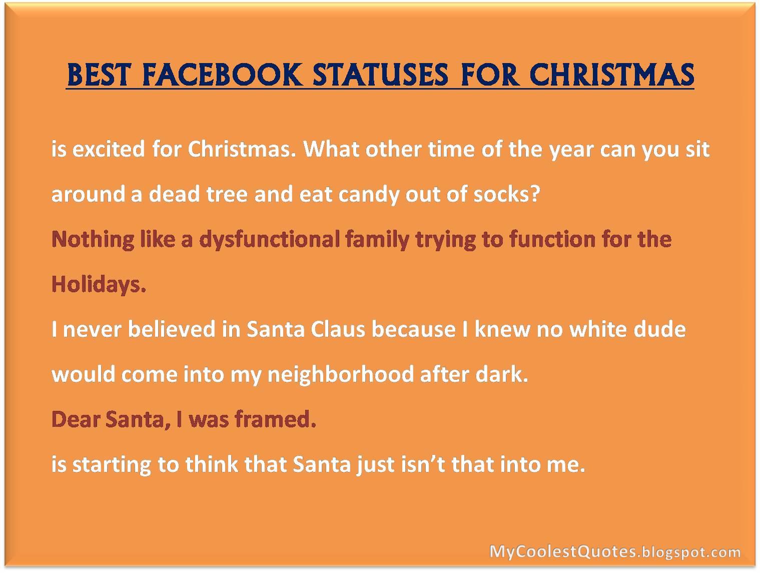 Happy, Happy Christmas ...