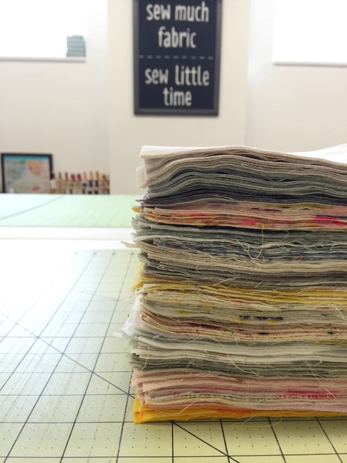 Tips for Quilting with Double Gauze - In Color Order