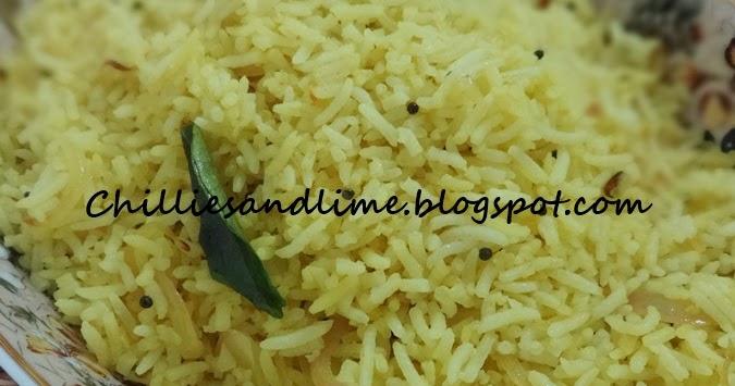Ravinder S Kitchen Lemon Rice
