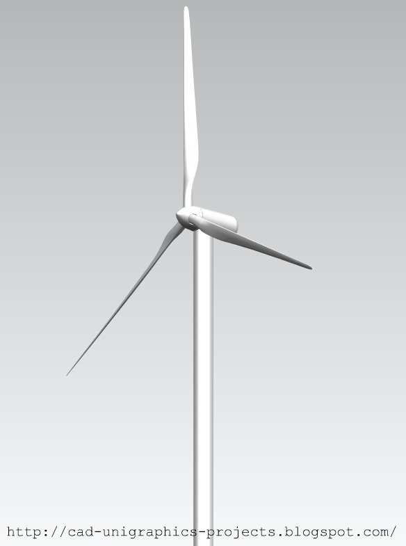 Cad Designs By Ivan Wind Turbine Free Cad Download File