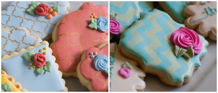 Bake at 350 decorated cookie index: stenciled cookies