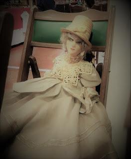 Muñeca boudoir de PM Estudio