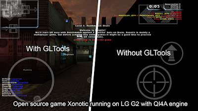 Tampilan game dengan GLTools [root] (gfx optimizer)