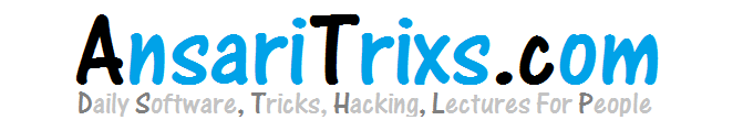 Welcome To AnSaRiTrixs - Tricks, Learning, Hacking, Blogging, Software