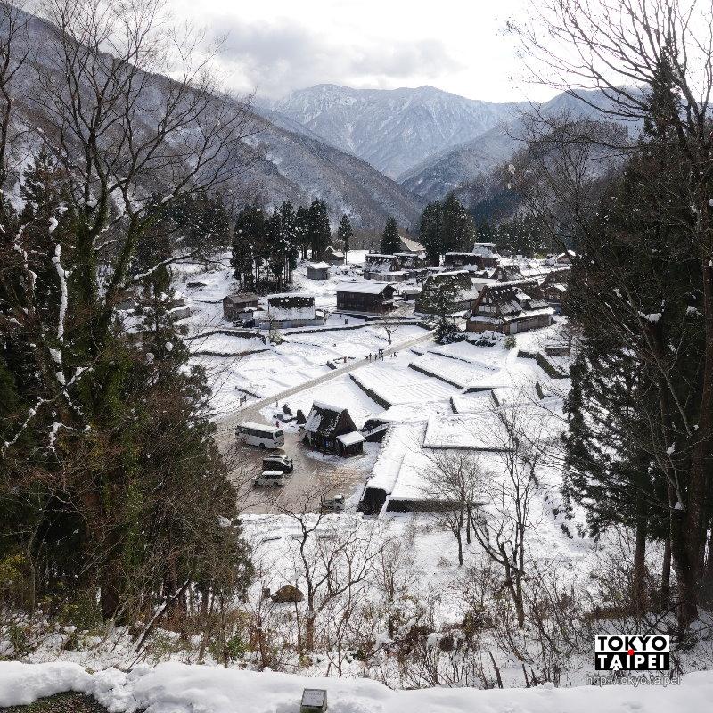【相倉合掌造集落】五箇山中世界遺產 積雪謐靜合掌村