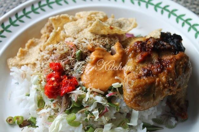 Nasi Kerabu Hasil Air Tangan Dr Nana