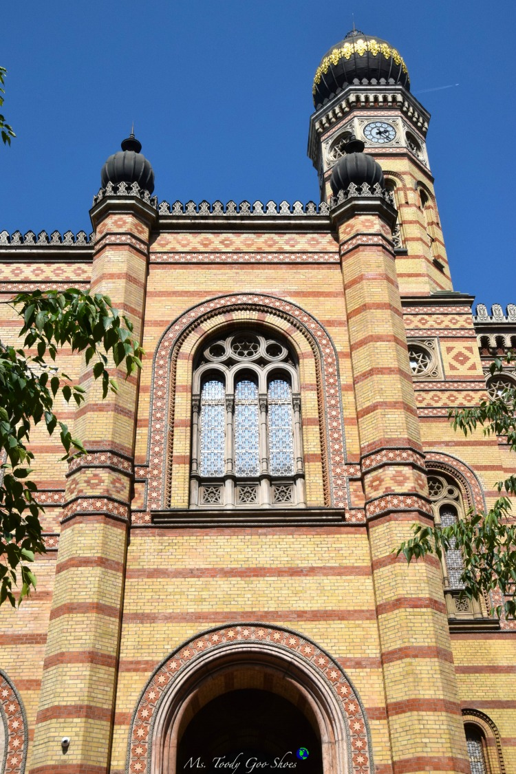 Doheny Synagogue in Budapest  | Ms. Toody Goo Shoes #budapest #danuberivercruise #hungary