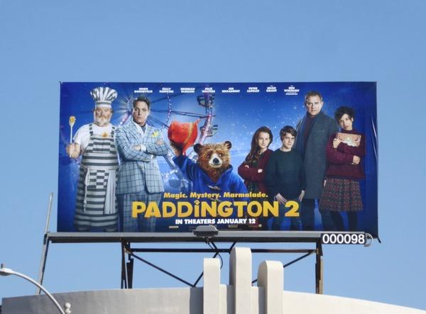 Paddington 2 film billboard