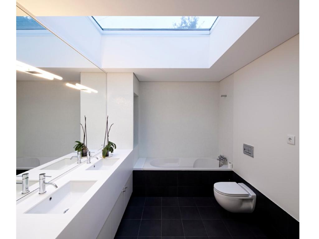 West End Cottage Bathroom Skylights