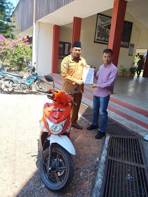 Donasi Motor Honda kepada SMK di Kepri