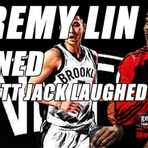 Jeremy Lin Signed ★ Jarrett Jack Laughed ★ New BrookLin Nets