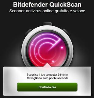 Scansione virus online