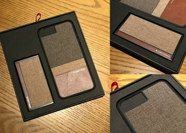 【聖誕送禮】男士之選 M.Craftsman 保護殼及充電池套裝