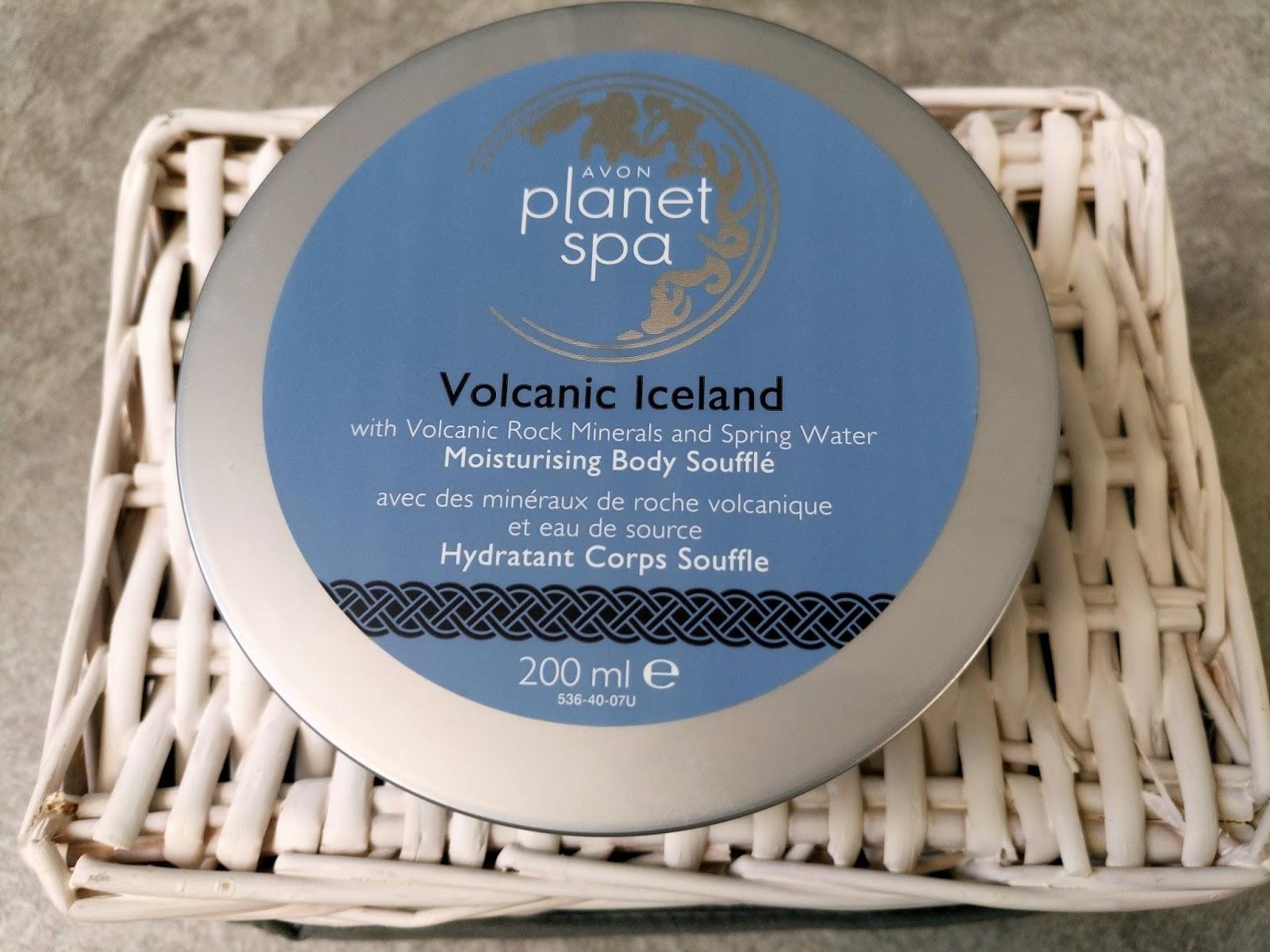 Avon Planet Spa Volcanic Iceland nawilżający mus do ciała