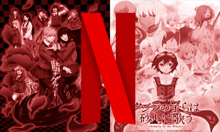 Kakegurui y Children of the Whales en Netflix