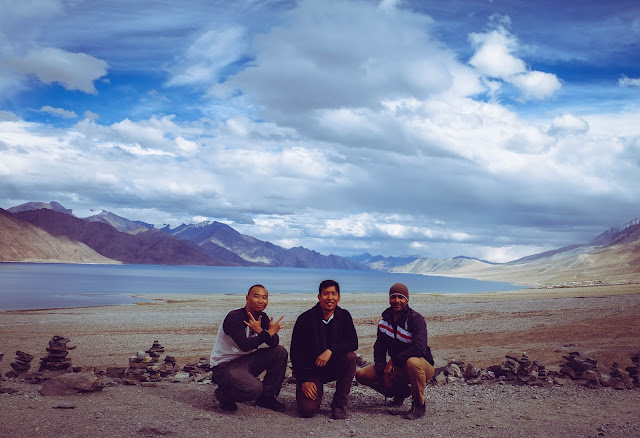 Three Idiots Pangong Lake