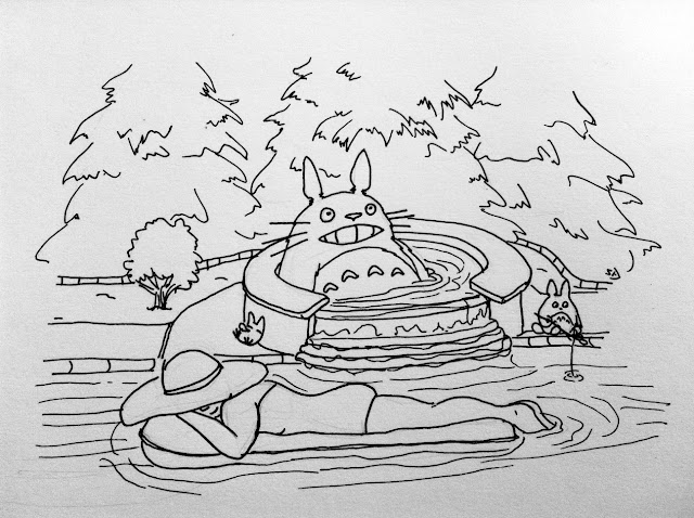 Little black marker april 2012, guess how much i love you coloring pages