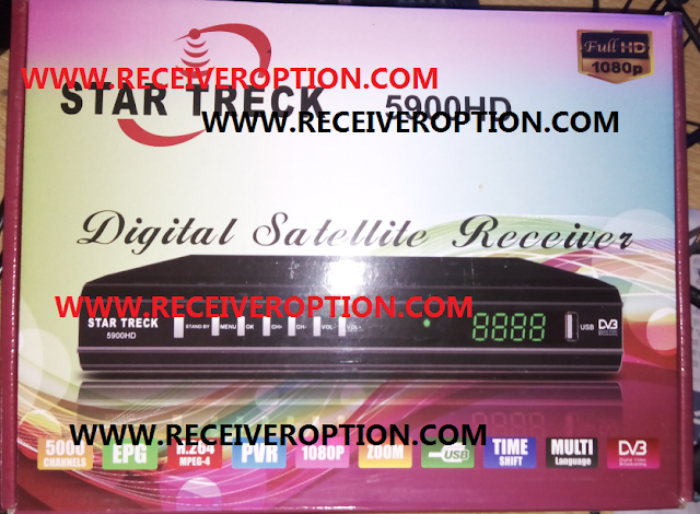 STAR TRECK 5900HD RECEIVER POWERVU KEY NEW SOFTWARE