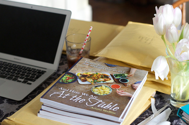 Win a Copy of And Here We Are At The Table Cookbook + Turmeric Roasted Potatoes Recipe