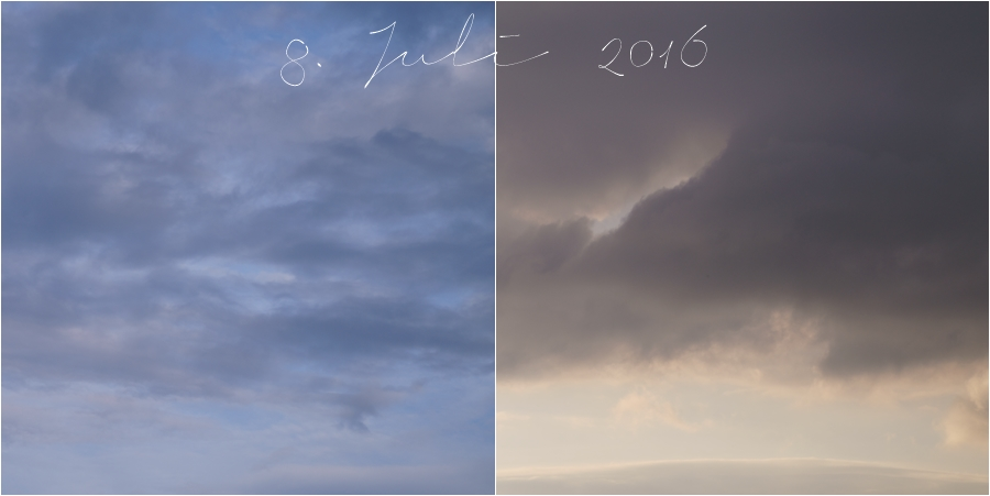 Blog + Fotografie by it's me! | fim.works | Himmel am 8. Juli 2016