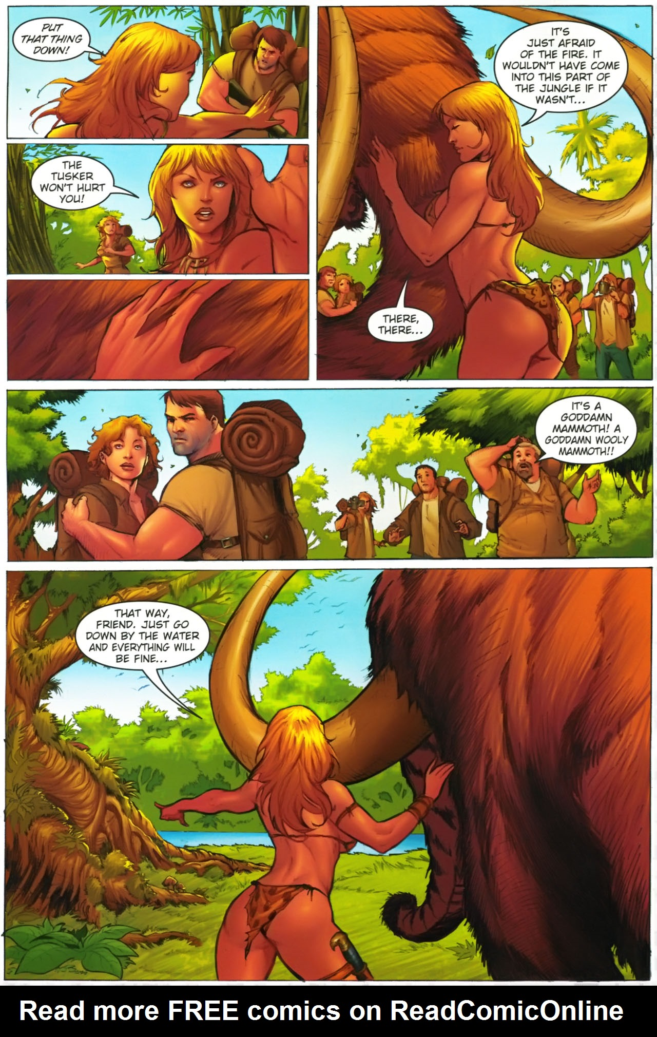 Read online Jungle Girl comic -  Issue #2 - 6